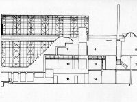 part 2 of the Site Plan of Crystal Bridge, Oklahoma City, by James S. Rossant, Conklin + Rossant