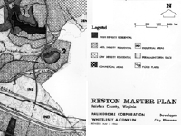 part of the Master Plan of Reston
